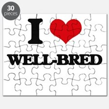 I love Well-Bred Puzzle