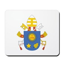 Pope_Francis_Coat_Of_Arms_IHS Mousepad