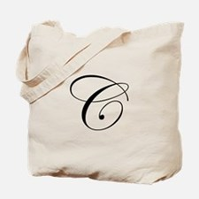C-edw black Tote Bag