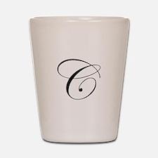 C-edw black Shot Glass