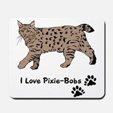 Pixie-Bob (color) Mousepad