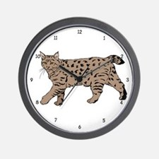 Pixie-Bob (color) Wall Clock