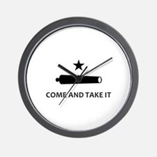 BATTLE OF GONZALES Wall Clock