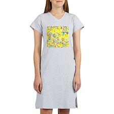 Shower Curtain Designs by LH Women's Nightshirt