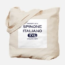 Property of Spinone Italiano Tote Bag