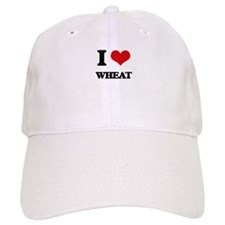I love Wheat Baseball Cap