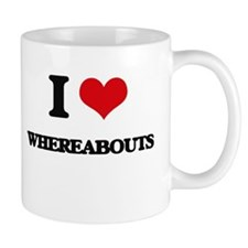 I love Whereabouts Mugs