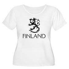 Finland Plus Size T-Shirt