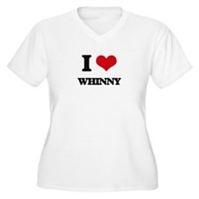I love Whinny Plus Size T-Shirt