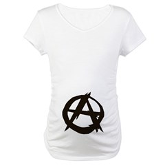 Anarchy-Blk-Whte Shirt