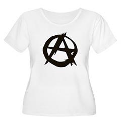 Anarchy-Blk-Whte T-Shirt