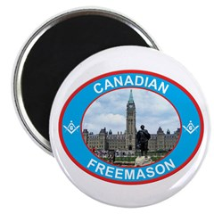 Proud Canada Mason Magnet