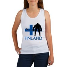 Finland Hockey Women's Tank Top
