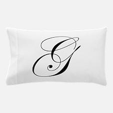 G-edw black Pillow Case