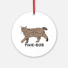 Pixie-Bob (color) Ornament (Round)