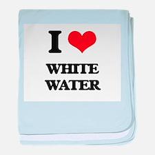 I love White Water baby blanket