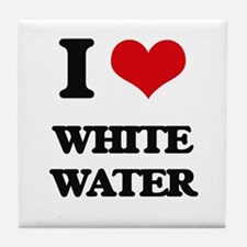 I love White Water Tile Coaster