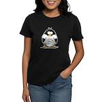 love linux Penguin Women's Dark T-Shirt