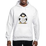 love linux Penguin Hooded Sweatshirt