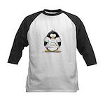 love linux Penguin Kids Baseball Jersey