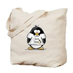 love linux Penguin Tote Bag