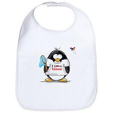 linux Penguin Bib