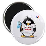 linux Penguin Magnet