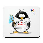 linux Penguin Mousepad