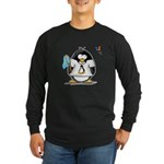 linux vs windows Penguin Long Sleeve Dark T-Shirt