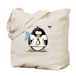 linux vs windows Penguin Tote Bag