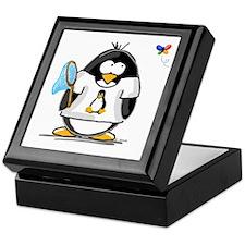 linux vs windows Penguin Keepsake Box