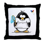 ipenguin Penguin Throw Pillow