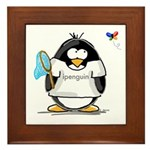 ipenguin Penguin Framed Tile