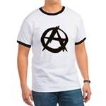Anarchy-Blk-Whte Ringer T