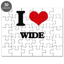 I love Wide Puzzle