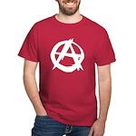 Anarchy-Blk-Whte Dark T-Shirt
