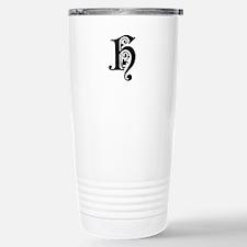 H-pre black Travel Mug