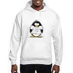 Love Tux Penguin Hooded Sweatshirt