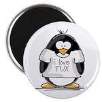 Love Tux Penguin Magnet