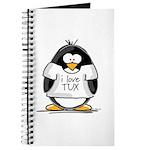 Love Tux Penguin Journal