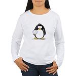 volleyball Penguin Women's Long Sleeve T-Shirt