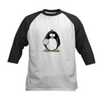 volleyball Penguin Kids Baseball Jersey