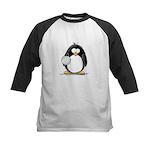 volleyball Penguin Kids Baseball Jersey