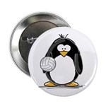volleyball Penguin Button