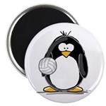 volleyball Penguin Magnet