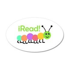 I READ Wall Decal