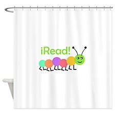 I READ Shower Curtain