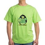 volleyball bump set spike Pen Green T-Shirt