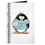 volleyball bump set spike Pen Journal