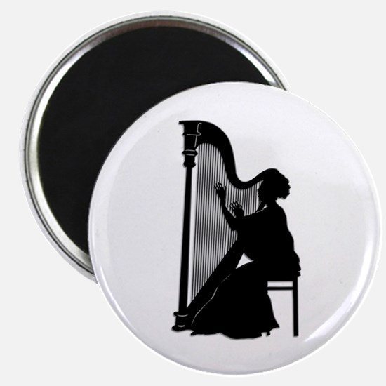 Harpist Magnets